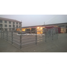 Heavy Duty Fence Panel Appy to Sheep, Cattle, Cow, Goat/115X42mm Oval Rails Yard Cattle Panels for Bull/Australia Standard Oval Rali Galvanzied Cattle
