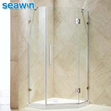 Seawin Small Designs Floor Guide Stop Outdoor Shower Cabin Hinge Glass Shower Door Room