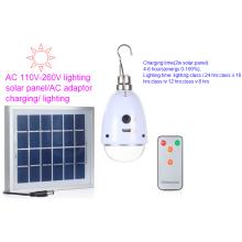 Bombilla de iluminación solar LED de serie exitosa en precio de fábrica