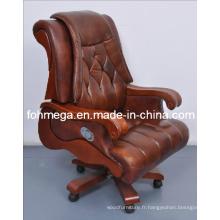 Chaise de bureau de luxe de style européen pour président / PDG / Président Foh-1239