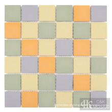 Ladrilhos Backsplash de mosaico de cerâmica colorida