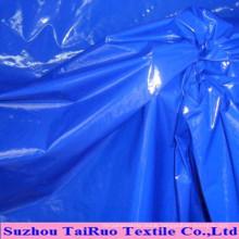 Nylon Taffeta with Oil Cired Finish for Downjacket Fabric