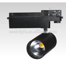 S/n 30W/50W led feux de piste / ce rohs led spot rail d'éclairage 3 ans garantie rail d'éclairage led