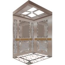 Passenger Elevator Lift Mirror Etched Aksen Hm-2000-5