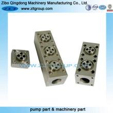 Intercambiador para Macining Parts con tipos de material