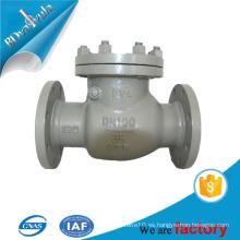 Material de acero para compras en línea Válvula de retención de globo DIN para el tubo de aceite y gas de agua