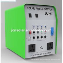 Sistema de energía solar para casas pequeñas con cargador AC DC dentro