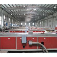 2014! Máquina de perfil WPC de dos pasos para la línea de producción de wpc / máquina de compuesto de plástico de madera