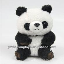 2014 venta caliente de voz de peluche de juguete hablando de panda