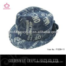 Mode chapeau masculin automne et chapeau de turban d'hiver pour homme chapeau de poche masculin d'hiver chapeaux formels classiques