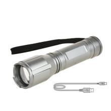 Luz de antorcha led de larga distancia con zoom