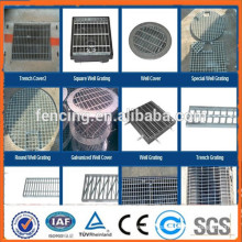 Factory direct wholesale!! Road drainage steel grating(factory)