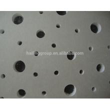 Perforated Gypsum Board Standard Size / Plaster Board Manufacturer