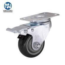 """Ruedas de 3 """"con ruedas para muebles industriales"""