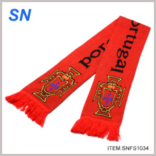 Bufanda promocional del club del balompié de la venta caliente (SNFS1034)