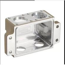 High Precision Aluminium Die Castings , White Machined Box For Equipment