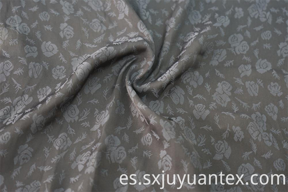 Sea Island Rose Flower Jacquard Fabric