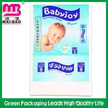 Bolso personalizado de la higiene del viaje del logotipo para el bolso cambiante del pañal plástico
