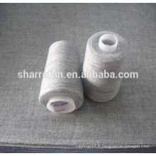 Super qualité 28NM / 1 50% laine 50% fil de nylon pour châles