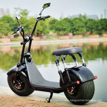 2020 Best Seller Top Speed 60km/H 21.8ah/13.6ah Black Citycoco Scooter