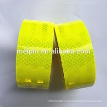 material de vinilo reflectante de seguridad reflectante Lámina / lámina autoadhesiva reflectante de alta intensidad
