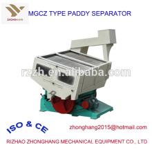 MGCZ máquina de separação de arroz paddy tipo gravidade