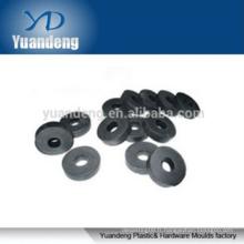 Rondelles plates en plastique à rondelles noires