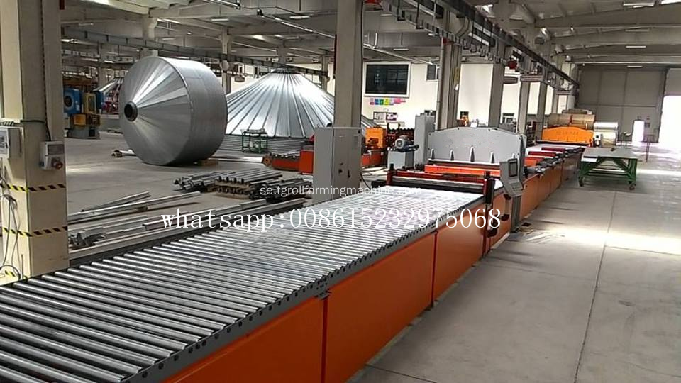 Europeisk kvalitet Silo Roof Making Machine