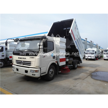 Dongfeng 4x2 road sweeper truck for city road