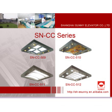 Elevator Cabin Ceiling with Stainless Steel Frame (SN-CC-509)