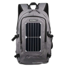 2017 Factory wholesale ECE-668 solar charger backpack for mobile phone