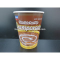 Environmental Friendly Double Wall 400ml Porridge Disposable Paper Cup with FDA Certificate