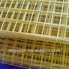 Panel de malla de alambre soldado recubierto de pvc 2x2