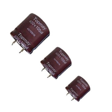 Snap dans le condensateur électrolytique en aluminium 105c Tmce18-9