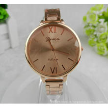 Yxl-412 Mode Frauen Uhr Handgelenk Rose Gold Fall Thin Band Luxus Heißer Verkauf Japan Movt Legierung Damen Armbanduhren