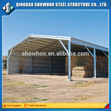 Prefabricated Steel Structure Warehouse Building Fireproof Shed