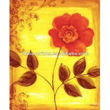 Home Decor Цветочная живопись на холсте для продажи