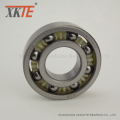 Nylon 6-6 Cage Ball Bearing Untuk Mining Belt Conveyor Idler