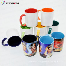 sublimation mugs wholesale, sublimation blanks cups and mugs, handle & inside color mugs