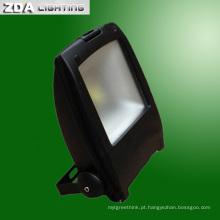 Luz de inundação do diodo emissor de luz 10W / 20W / 30W / 50W / 80W para a iluminação exterior