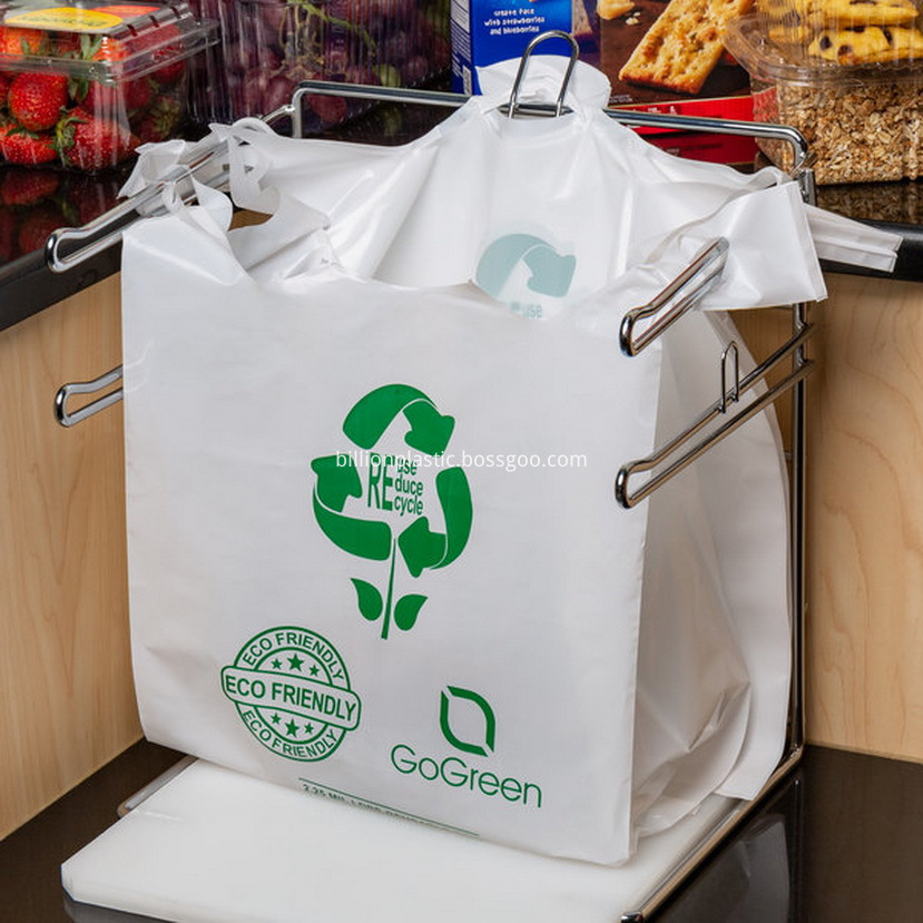 Plastic Shopping Bags With Handles