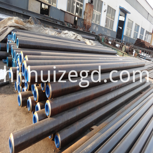 steel pipe stock