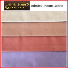 100% poliéster 3 Pass Blackout tecido para cortinas EDM4604