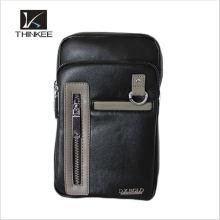 Оптом мужская кожаная сумка кошелек сделано в Китае сумка груди мешок для мужчин
