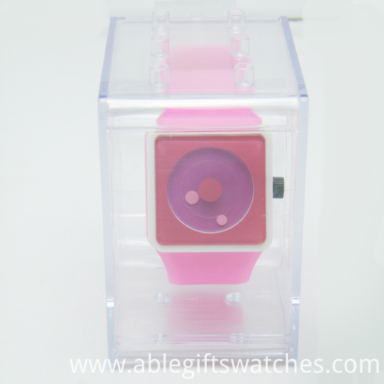 simple silicone watch