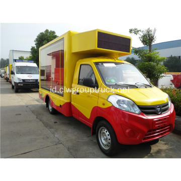 Truk Iklan LED Mini Foton Mobile