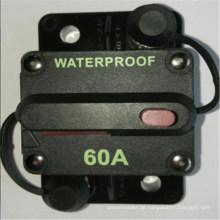 Sicherungsschutz. 12V 24V 36vin Auto Audio 60A Leistungsschalter