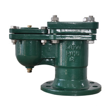 Válvula de aire con orificio con brida