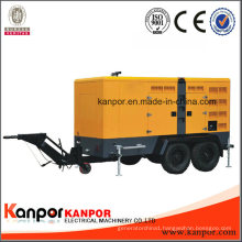 Quality Easy Moved Trailer Type Diesel Genset Powered by Weichai Ricardo