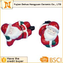 Керамический Санта Клаус для украшения Кристам